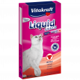 Vitakraft Liquid Snack with Beef + Inulin 6 piese