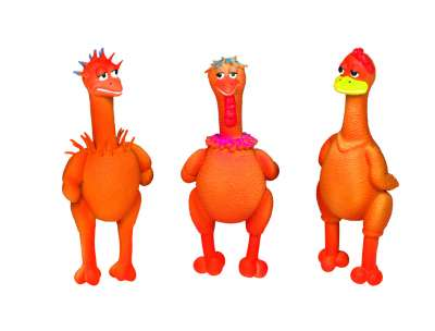 Nobby Latex Figures Cool Chicken 21-22 cm