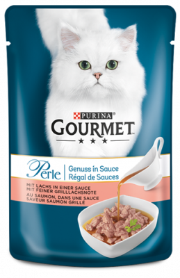 Purina Gourmet Perle Gravy Delight with Salmon 85 g