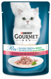 Gourmet Perle Mini Fillets in Gravy with Trout and Spinach Purina 85 g