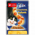 Felix Sensations with Beef in Jelly with Tomato  100 g
