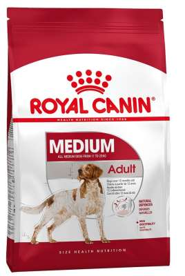 Royal Canin Size Health Nutrition Medium Adult  4 kg, 15 kg, 10 kg