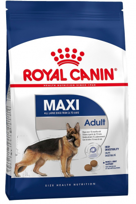 Royal Canin Size Health Nutrition Maxi Adult  4 kg, 15 kg, 10 kg