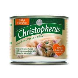 Christopherus Adult Cat - Beef & Chicken Can  200 g