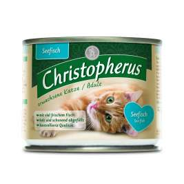 Christopherus Adult Cat - Sea fish Can  200 g