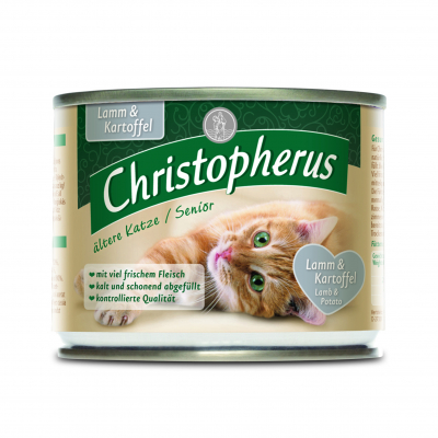 Christopherus Senior - Lamb & Potato Can 400 g, 200 g