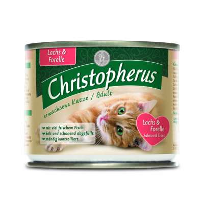 Christopherus Adult - Salmon & Trout Can 400 g, 200 g, 800 g