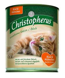 Christopherus Adult Cat - Beef & Chicken Can  800 g