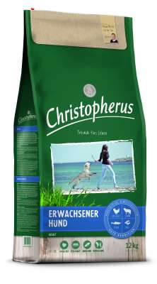 Christopherus Adult Dog - Poultry, Lamb, Eggs & Rice  4 kg, 12 kg, 1.5 kg