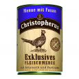 Christopherus Exclusives Fleischmenue - Fasan, Amaranth und Pastinake Dose 400 g