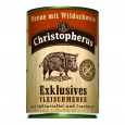 Christopherus Exclusive Meat Menu - Wild boar, Sweet potato and Cranberry Can 400 g Billig