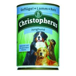 Junior – Poultry, Lamb & Rice Can Christopherus 4005784076018