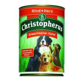 Adult Dog – Beef & Heart Can Christopherus 4005784076025