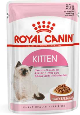 Royal Canin Feline Health Nutrition Kitten σε Σάλτσα 85 g