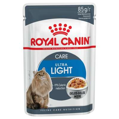 Royal Canin Feline Health Nutrition Ultra Light zselében 85 g