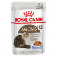 Feline Health Nutrition Ageing +12 in Jelly Royal Canin 85 g