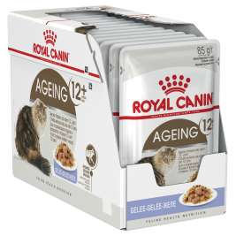 Royal Canin Feline Health Nutrition Multipack Ageing +12 σε Ζελέ 12x85 g