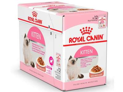 Royal Canin Feline Health Nutrition Multipack Kitten in Salsa 12x85 g