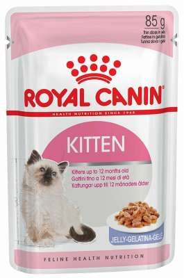 Royal Canin Feline Health Nutrition Kitten zselében 85 g