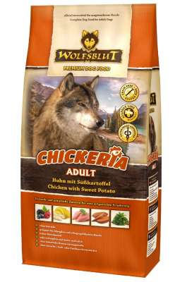 Wolfsblut Chickeria Adult Poulet avec Patates Douces  500 g, 2 kg, 15 kg