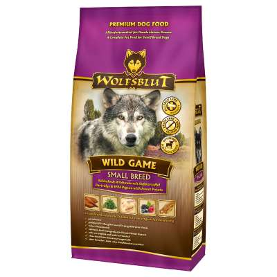 Wolfsblut Wild Game Small Breed  500 g, 2 kg, 15 kg
