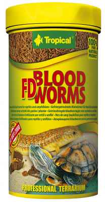 Tropical FD Blood Worms  7 g