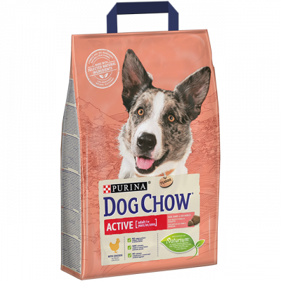 Purina Dog Chow Active mit Huhn  2.5 kg, 14 kg