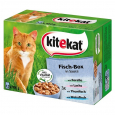 Multipack 12 Pouches – Fish Box in sauce Kitekat 12x100 g