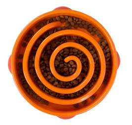 Outward Hound Fun Feeder  Orange Regular  boutique en ligne
