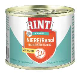 Rinti Canine Insuffisance Rénale Poulet  185 g