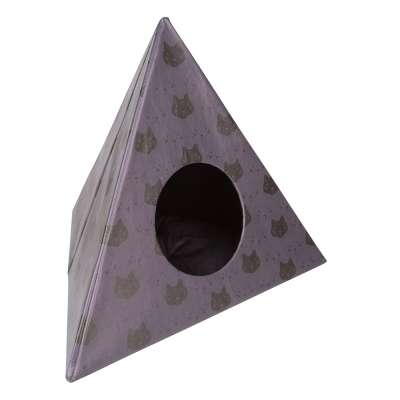 District 70 Triangle Cats Gris oscuro 60x60x50 cm