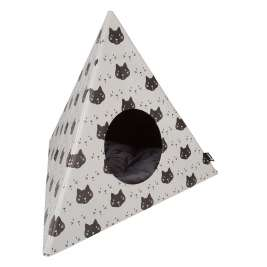 District 70 Triangle Cats  Beige