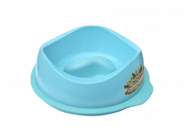 BeCo Pets Slow Feed Bowl  Lichtblauw