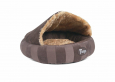 Scruffs Tramps AristoCat Dome Bed, brown  Marrone