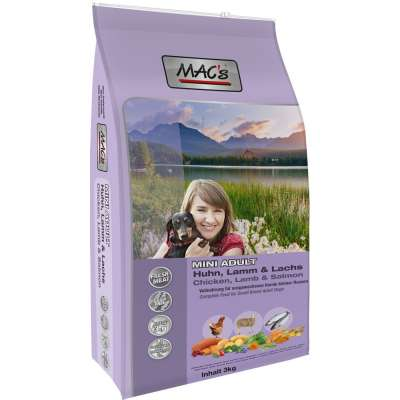 MAC's Adult Mini with Chicken, Lamb & Salmon  750 g, 3 kg