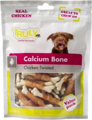 Truly Calcium Bone Chicken twisted 360 g Kip