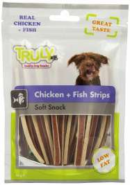 Truly Chicken + Fish Strips 90 g prix