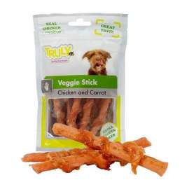 Truly Veggie Stick Chicken with Carrot 90 g Preis