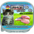 MAC's Kitten - Turkey, Chicken, and Salmon in Tray  85 g