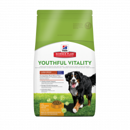 Science Plan Canine - Adult 5+ Youthful Vitality Large Breed avec Poulet et Riz Hill's 0052742015842
