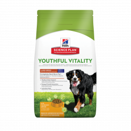 Hill's Science Plan Canine Adult 5+ Youthful Vitality Large Breed med Kyckling och Ris  2.5 kg, 10 kg