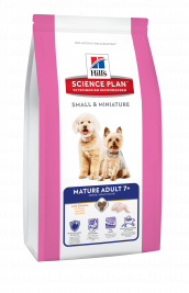 Science Plan Canine - Mature Adult 7+ Small & Miniature med Kylling fra Hill's 1.5 kg