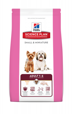 Hill's Science Plan Canine - Adult Small & Miniature  6.5 kg, 300 g, 3 kg, 1.5 kg