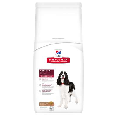 Hill's Science Plan Canine Adult Advanced Fitness Αρνί & Ρύζ  3 kg, 12 kg