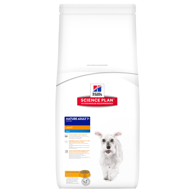 Hill's Science Plan Canine Mature Adult 7+ Mini Light with Chicken  2.5 kg