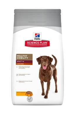 Hill's Science PlanCanine AdultHealthy MobilityLarge Breed Kylling  3 kg, 12 kg