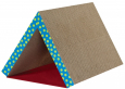 Fold Away Scratching Tunnel  Marrom Claro por Petstages
