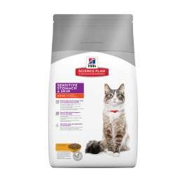 Hill's Science Plan Feline Adult Sensitive Stomach & Skin cu Pui 5 kg magazin online