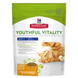 Science Plan Feline - Adult 7+ Youthful Vitality mit Huhn & Reis von Hill's 250 g EAN: 0052742015880