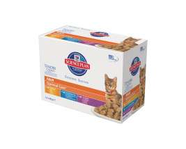 Hill's Science Plan Feline - Multipack Adult Optimal Care în Sos 12x85 g
